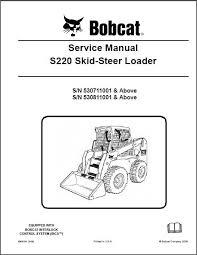bobcat 450 453 skid steer loader service repair manual bobcat s220 skid steer loader service repair manual cd