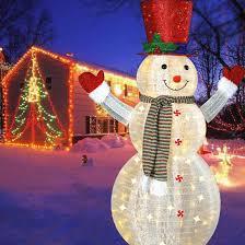 Indoor Snowman Lights Jingle Lights Led 60 Snowman Christmas Lights Christmas