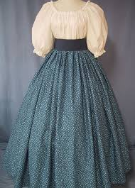 pioneer woman clothing. navy calico pioneer costume frontier par stitchintimedesigns, $36,00 woman clothing