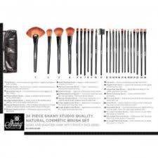 shany studio 23 piece makeup brush set plus pouch makeup daily