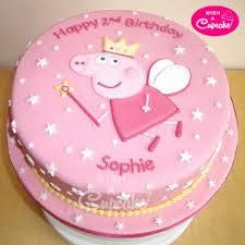 Peppa Pig Cake Order Peppa Pig Cake Online Designer Cakes Online