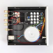 kit diy amplificateur stéréo silver