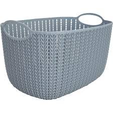 <b>Корзинка для хранения</b> «Вязание», 7 л, цвет серый в Иваново ...