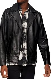 <b>Men's Leather</b> (Genuine) Coats & Jackets | Nordstrom