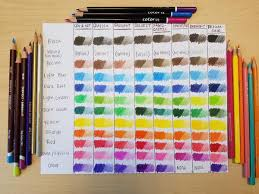 Artist Loft Sketch Markers Color Chart What Are The Best Colored Pencils 8 Top Brands Compared