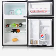 midea 3 1 cu ft pact refrigerator and freezer walmart small refrigerators  on modern home decoration