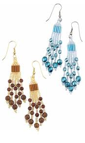 Designing Jewelry With Glass Beads Jewelry Design Earrings With Gemstone Beads Czech Fire