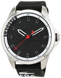 lacoste capbreton 2010840 men s wrist watch analogue quartz lacoste mens quartz watch analogue classic display and silicone strap 2010840