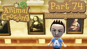 animal crossing new leaf part 74 100 real painting and sculpture guide you
