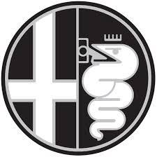 alfa romeo logo black and white. alfa romeo logo 4 black and white
