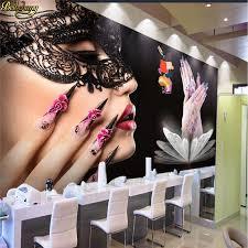 <b>beibehang Custom photo wallpaper</b> murals beauty salon nail ...