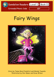 dandelion readers level 1 book 13 fairy wings sequence air