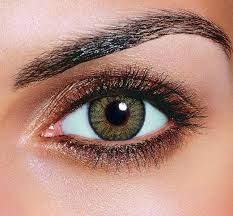 makeup ideas for light brown eyes