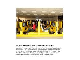activision blizzard coolest offices 2016. 4. Activision Blizzard Coolest Offices 2016