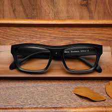 tide brand khoty authentic japanese hand made vintage large framed glasses frame men and loading zoom