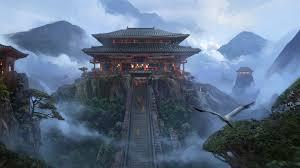 temple fantasy art #artwork #landscape ...