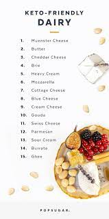 You can make a delicious morning breakfast by adding: Can You Eat Cheese On The Keto Diet Popsugar Fitness