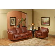 Leather Sofa Sets For Living Room Omnia Leather Great Texas 3 Seat Leather Sofa Set Reviews Wayfair