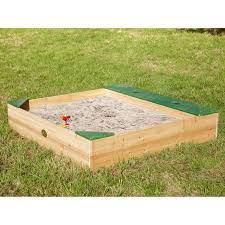 Axi Sandbox Amy mit Speicherplatz 115 cm x 115 cm kaufen bei OBI