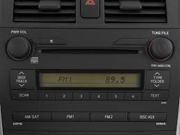 2009 Toyota Corolla Radio Interior Photo | Automotive.com