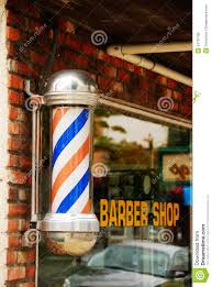 Barber Shop Candy Cane Light Town Walk Stock Image Image Of Barber Style Sign Shave