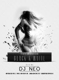 Black And White Flyer Template White Flyer Background Okl Mindsprou On Flyer Template Vectors 16
