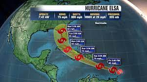 NOAA National Hurricane Center: Elsa ...