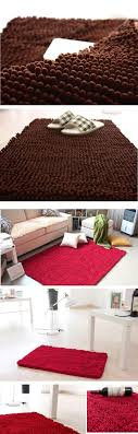 absorb water quickly bath mats 60x90cm 23 x35 chenille kitchen floor mat area rugs constructed to