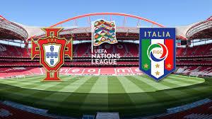 Calcio in tv   UEFA Nations League   stasera Portogallo - Italia su Rai 1 -  Marida Caterini - TV Intrattenimento Informazione Talk Show
