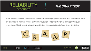 Craap Test Craap Analysis Professional Writing And Communication In