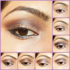 eye makeup tutorial cool toned smokey brown eyes