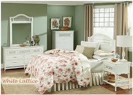 White wicker bedroom furniture - theradmommy.com