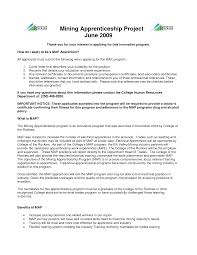 Resume Examples For Mining Jobs Ixiplay Free Samples Apprenticeship