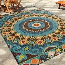 large outdoor rug rv waterproof rugs patio unique indoor deck porch 5 2 x 7 6 149 89 pic