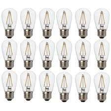 Led String Lights Replacement Bulbs Newhouse Lighting Outdoor 2w S14 Led Replacement String