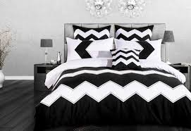 napoli black and white quilt cover set doona cover set