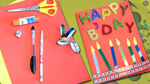 Handmade Birthday Cards  YouTubeCard Making Ideas For Birthday