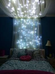 Possibly Above The Bed, Like This! With Fairy Lights/galaxy Lights. | Room  Ideas | Pinterest | Fairy, Lights And Bedrooms