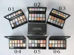 art canada mac eyeshadow 12 colors 6 sets