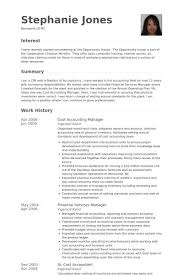 Accounting Manager Resume Examples Extraordinary Senior Accounting Manager Resume Template Premium Samples With