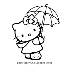 Hello Kitty Free Printable Coloring Pages Coloring Pages For Hello