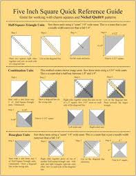 Just The Chart No Link But Very Helpful Sewing Quilt