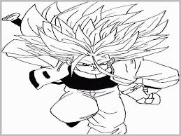 Dragon Ball Super Coloring Pages Fresh Dragon Ball Z Super Saiyan