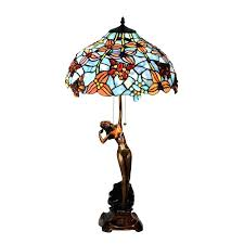 antique stained glass lamps antique stained glass lampshade