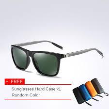 classic polarized sunglasses men driving square black frame eyewear male sun glasses for men wome oculos