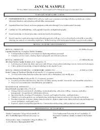 Medical Assistant Duties Resume Custom Medical Assistant Example Resume Sample Resume Objectives For Entry
