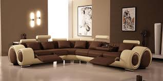 Living Room Creative Creative Painting In Brown With Different Layers For Elegant