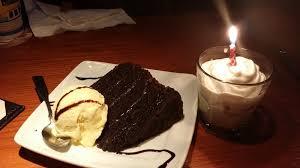 chocolate cake with vanilla ice cream. Wonderful Cake Photo Of Red Lobster  Canoga Park CA United States My Birthday Chocolate On Chocolate Cake With Vanilla Ice Cream K