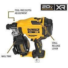 dewalt 20 volt max 15 degree cordless