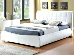king size faux leather bed frame white king size bed frame with storage impressive white leather